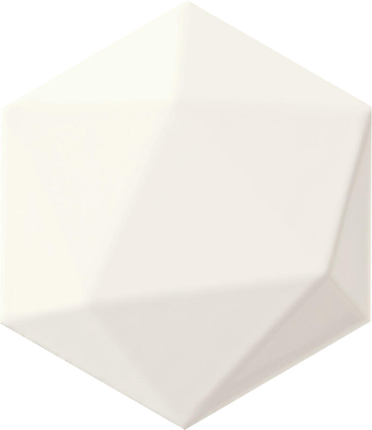Origami 11/12.5 White Hex texture